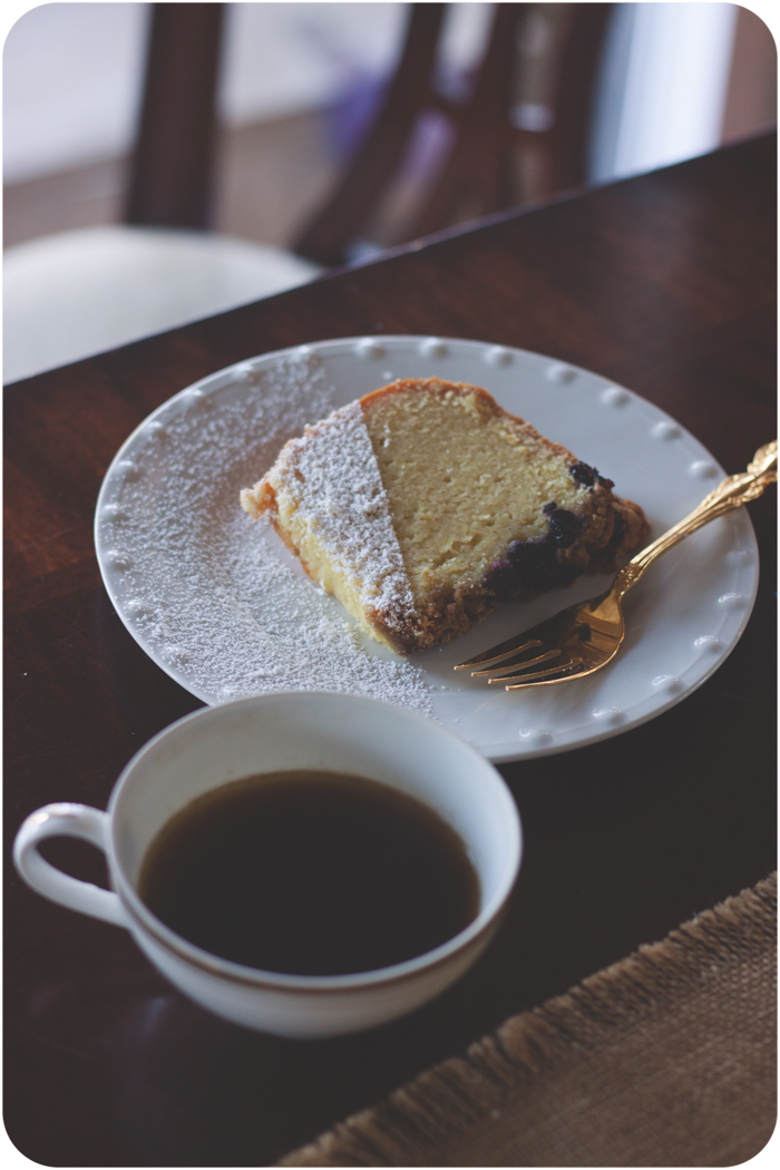 Lemon Blurberry Crumble Cake-2